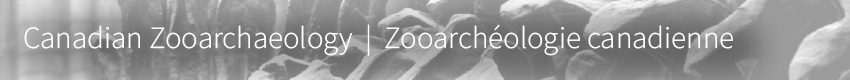 Canadian Zooarchaeology header