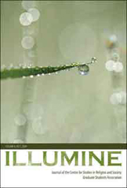 Illumine cover, vol. 8, no. 1, 2009