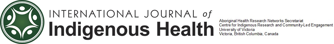 International Journal of Indigenous Health