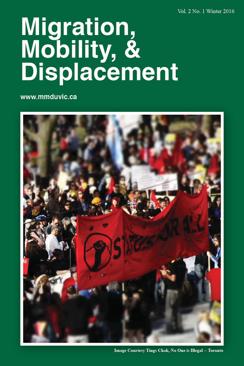 Migration, Mobility, & Displacement: Vol. 2, Issue 1, Winter 2016