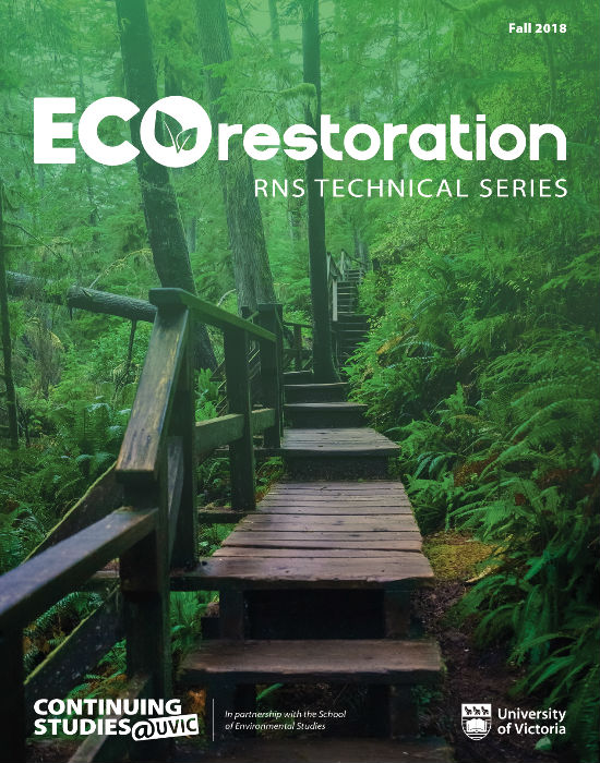 Ecorestoration Journal Cover Fall 2018