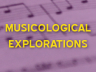 Musicological Explorations thumbnail