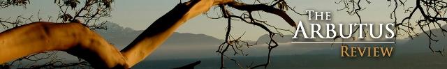 Arbutus tree reaching over the shore